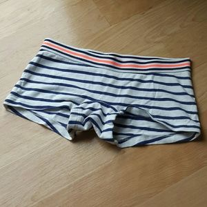 MINI BODEN | Striped Shorties Size 6-7Y
